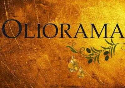 Oliorama gold plate