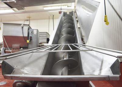 Beef patties processing machine